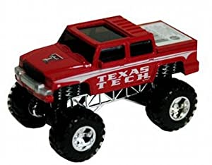 NCAA Texas Tech Red Raiders Toy Truck Pull Back