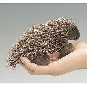 Mini Porcupine by Folkmanis