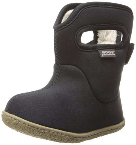 Bogs Baby Bogs Classic Solid Rain Boot (Toddler), Black, 10 M US Toddler