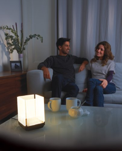 household lighting square table accent led touch light low profile. Black Bedroom Furniture Sets. Home Design Ideas