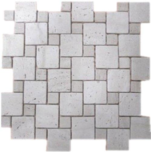stone mosaic tile backsplash travertine tile 12 x12 cha