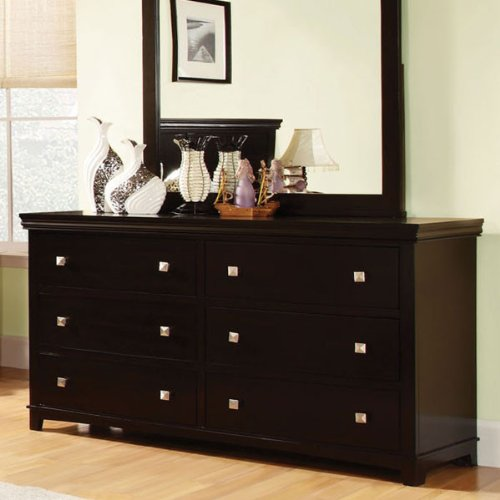 Espresso Finish Dresser back-695068