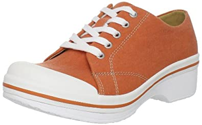 Dansko Women's Veda Clog,Orange,37 EU/6.5-7 M US