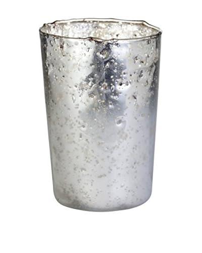Lene Bjerre Medium Stella Tealight, Silver/White