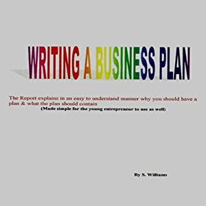 Writing a Business Plan | [S. Williams]
