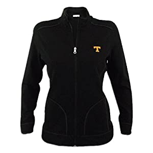 Tennessee Volunteers Ladies Cutter and Buck Ravenna Raw Edge Full Zip Jacket by Cutter & Buck
