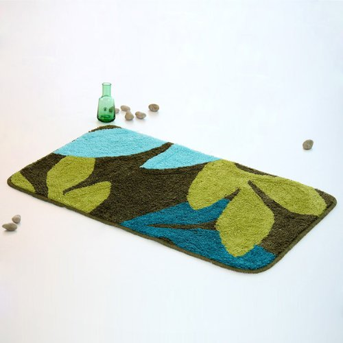 Naomi - [Tahiti] Luxury Home Rugs (15.7 by 23.6 inches)