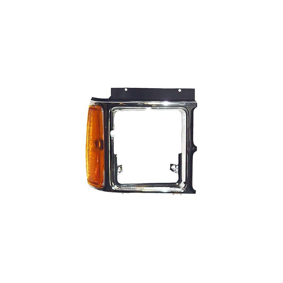 OE Replacement Dodge Dakota Passenger Side Headlight Door (Partslink Number CH2513104)