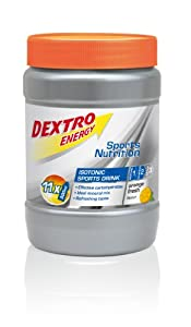 Dextro Energy Sports Nutrition Isotonic Sports Drink Orange Fresh Flavour, 1er Pack (1 x 440 g) by Dextro Energy GmbH & Co.KG