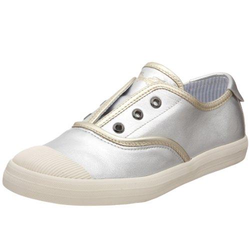 Robins Jean Women's Vallery Fashion Sneaker,Silver,9 M US