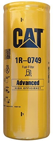 Caterpillar 1R-0749 Advanced High Efficiency Fuel Filter Multipack (Pack of 1) (Caterpillar Parts compare prices)
