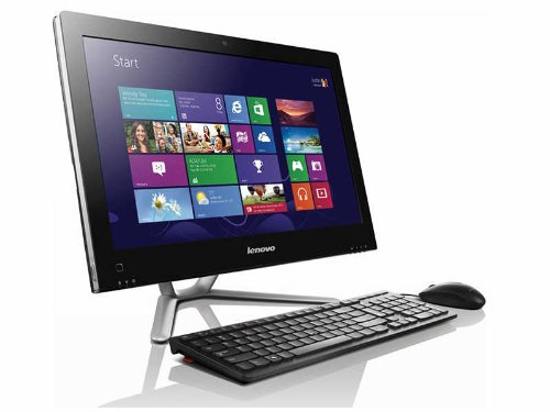 Lenovo IdeaCentre C540 23-Inch AIO Desktop (Black/Brushed Aluminum)