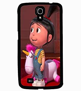 ColourCraft Cute Doll Design Back Case Cover for SAMSUNG GALAXY MEGA 6.3 I9200