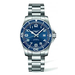longines HydroConquest Blue Dial Stainless Steel Watch L36944036