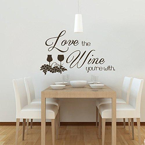 love-the-wine-you-re-with-rimovibile-muro-adesivi-grass-e-vino-uva-adesivo-da-parete-f-s-r-ristorant