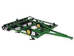 Ertl John Deere Mulch Master Diecast Tractor, 1:16-Scale