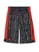 Under Armour Short Entrenamiento Eliminator Printed (Gris)