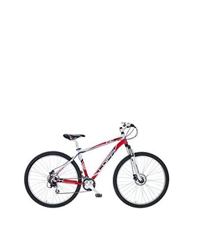 Coppi Bicicleta Mtb Aluminio Fc 29 Disco Blanco / Rojo
