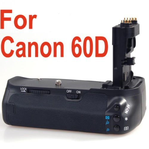 Neewer Battery Pack Grip (Replacement for BG-E9) for Canon EOS 60D Camera, LP-E6 or AA Batteries (Canon 60d Battery Pack compare prices)