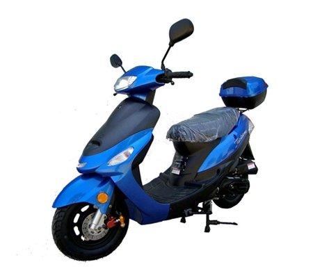 50cc Gas Street Legal Scooter TaoTao ATM50-A1 - Blue