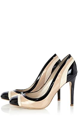 Neopolitan Stripe Pumps