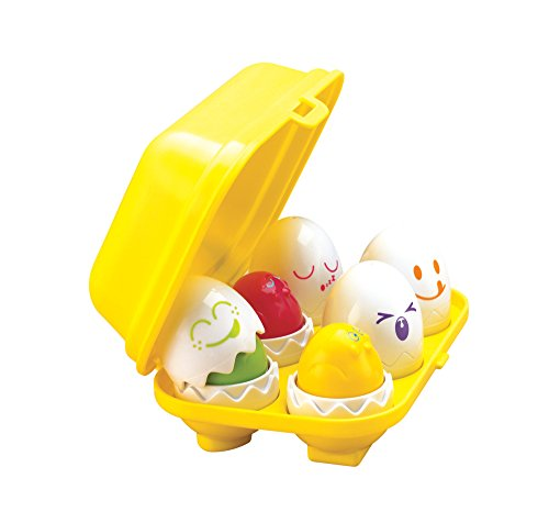 Tomy Play to Learn Hide n Squeak Eggs