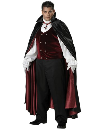 In Character Costumes Gothic Vampire Elite Collection Adult Plus Costume