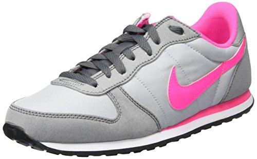 Nike Genicco Canvas, Scarpe Running Donna, Grigio (Wolf Grey/Pink Blast-Dark Grey), 37.5 EU