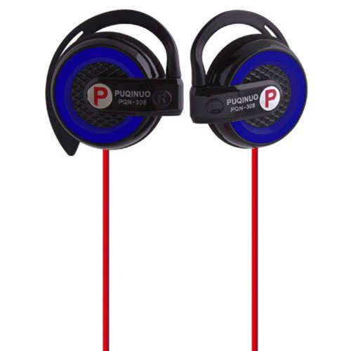 Idream Hi-Fi Earclip Stereo Clip On Headphones Earphone For Cd Ipod Iphone Mp3 Dark Blue