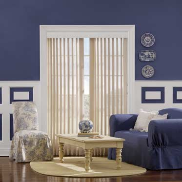 Sheer Enchantment Soft Vertical Blinds
