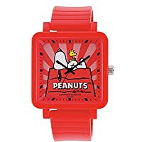 [シチズン時計株式会社 製 Q&Q ウォッチ] Q&Q 腕時計 ウォッチ SNOOPY スヌーピー ドッグハウス Q756-005
