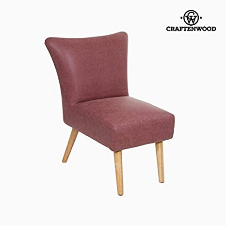 Craften Wood - Coral vintage retro armchair - Vintage Collection by Craftenwood - bb_S0103940