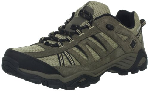 Columbia Men's North Plains Wide Trail Shoe, Verdant/Cordovan, 12 W US