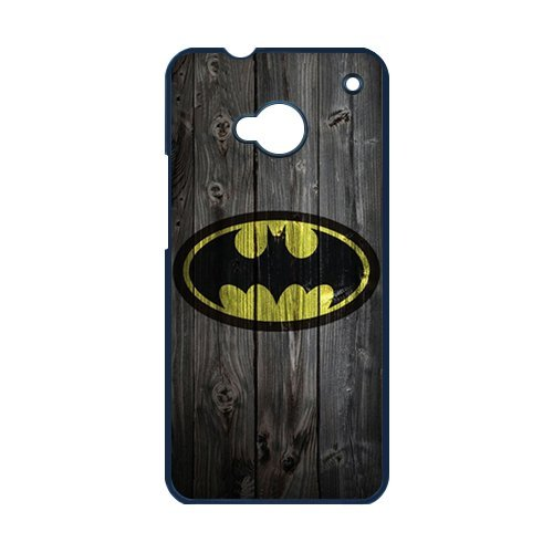 [Batman Logo The Dark Knight Durable Hard Plastic Case Cover for HTC ONE M7 Personalized Unique Custom Design Fashion] (Dog Costume Carrying Gift Video)