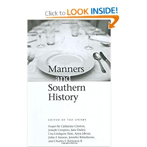 Amazon.com: Manners and Southern History (Chancellor Porter L ...