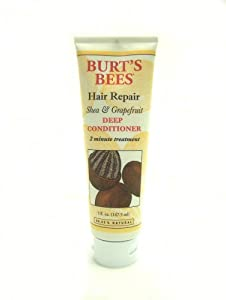 Burt's Bees Hair Repair, Shea And Grapefruit Deep Conditioner, 5-Ounce Tubes (Pack of 2)