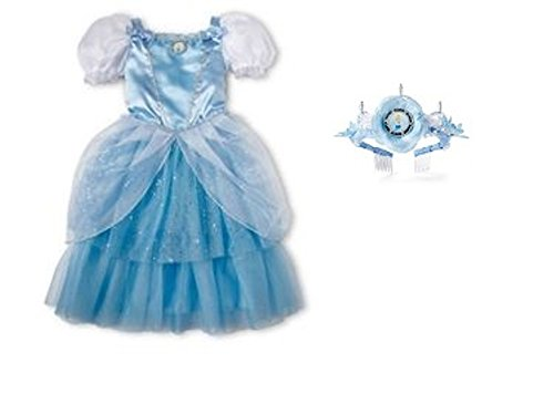 Disney Princess Cinderella Costume/Dress & Tiara Set