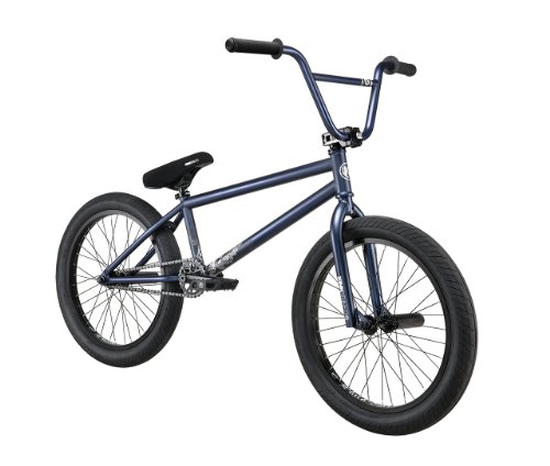 Kink Liberty 2013 BMX Bike-Brakeless (Blue/Black, 20.75-Inch)