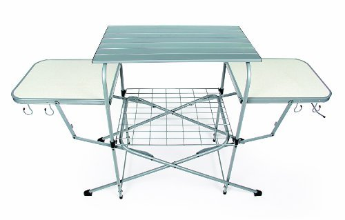 Camco 57293 Deluxe Grilling Table (Camping Cooking Table compare prices)