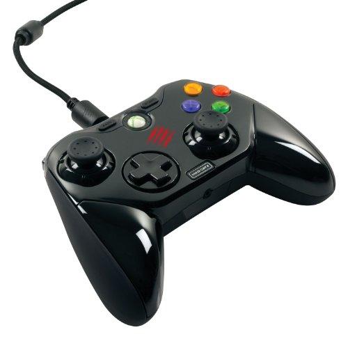 [Win7/8 Xinput対応ゲーム & Xbox 360対応] 【アナログスティックや方向パッドの配置を自由にカスタマイズできるゲームパッド型コントローラー】Mad Catz Pro コントローラー ブラック