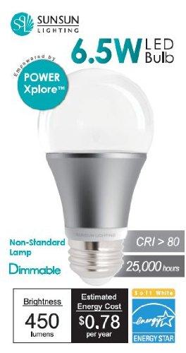 Sunsun Lighting Power Xplore 6.5 Watt (40 Watt Equiv) Led Lightbulb