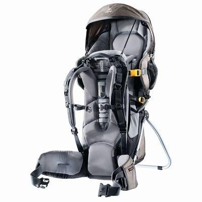 Deuter Kid Comfort III Child Carrier Black/Stone -