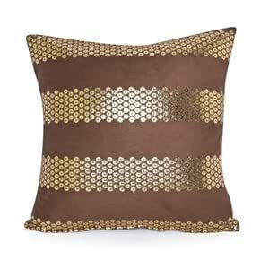 Gold Brown Throw Pillows : Amazon.com - 20