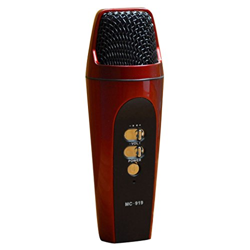 Newest Universal Handheld Cellphone Mic Microphone For Ios Devices Different Colors - Red