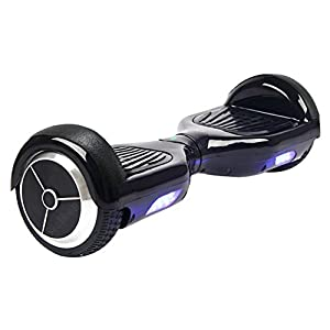 Sports Outdoor wasserdichte Mini Smart Selbst Balancing Elektro Unicycle Scooter Balance 2 Räder Weiß Schwarz Blau (Black)