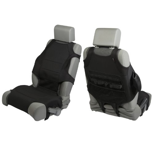 Rugged Ridge 13235.30 Black Neoprene Seat Vest - Pair front-842810