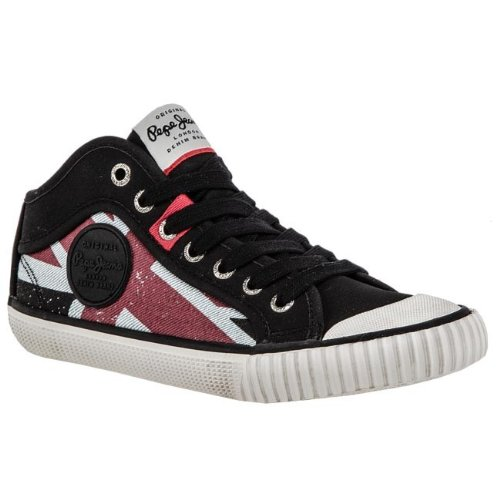 Pepe Jeans INDUSTRY, Damen Sneaker  Schwarz 999 BLACK 37