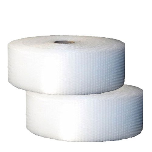 """UBOXES Small Bubble Cushioning Wrap 700' 3/16"""", Bubble Roll 12"""" Wide, Perforated Every 12"""""""