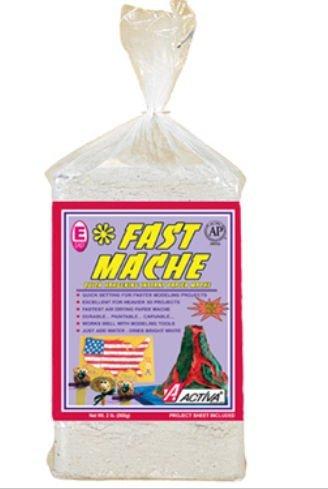 Activa 612 Activa Fast Mache The Sculpting Mache Bright White 12 Lb - Bulk Box