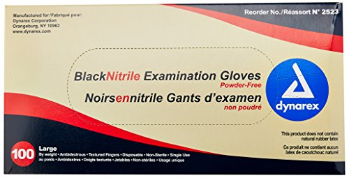 Dynarex 2523 Nitrile Exam Gloves